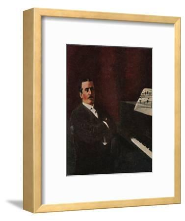 'Giacomo Puccini 1858-1924', 1934-Unknown-Framed Giclee Print