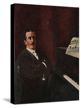 'Giacomo Puccini 1858-1924', 1934-Unknown-Stretched Canvas Print