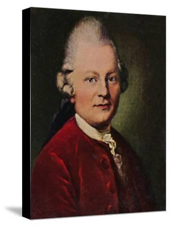 'Gotthold Ephraim Lessing 1729-1781. - Gemälde von Anton Graff', 1934-Unknown-Stretched Canvas Print