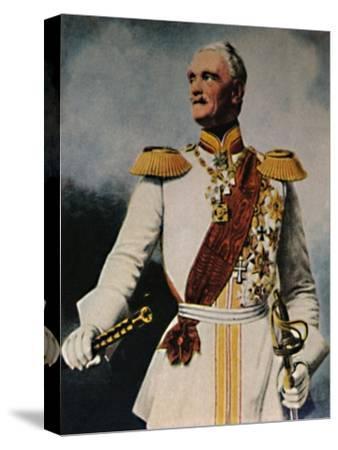 'Feldmarschall Wrangel 1784-1877. - Gemälde von Fr. Krüger', 1934-Unknown-Stretched Canvas Print