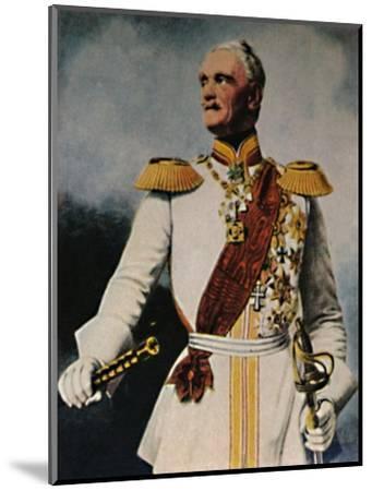 'Feldmarschall Wrangel 1784-1877. - Gemälde von Fr. Krüger', 1934-Unknown-Mounted Giclee Print