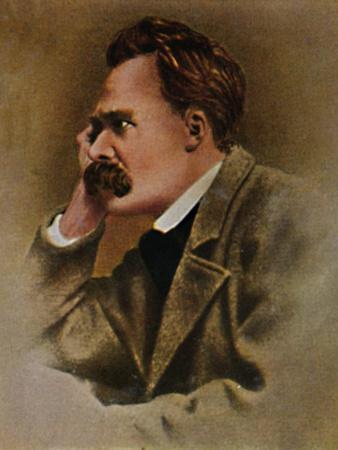'Friedrich Nietzsche 1844-1900', 1934-Unknown-Framed Giclee Print