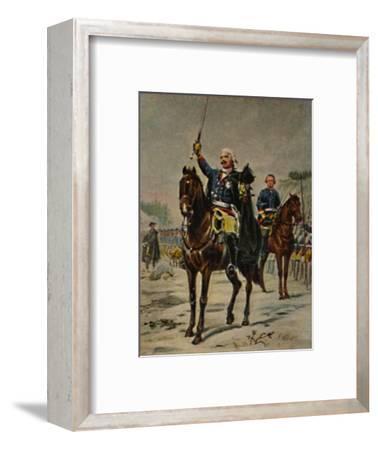'Der Alte Dessauer 1676-1747. - Gemälde von Camphausen', 1934-Unknown-Framed Giclee Print