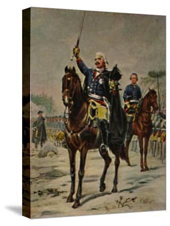 'Der Alte Dessauer 1676-1747. - Gemälde von Camphausen', 1934-Unknown-Stretched Canvas Print