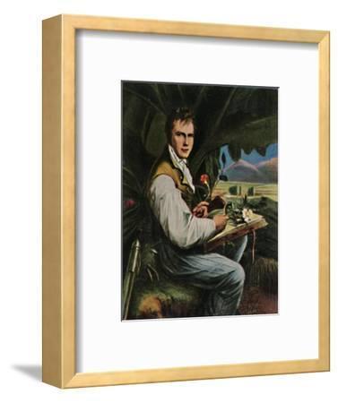 'Alexander von Humboldt 1769-1859. - Gemälde von Weitsch', 1934-Unknown-Framed Giclee Print