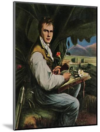 'Alexander von Humboldt 1769-1859. - Gemälde von Weitsch', 1934-Unknown-Mounted Giclee Print
