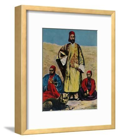 'Gustav Nachtigal 1834-1885', 1934-Unknown-Framed Giclee Print