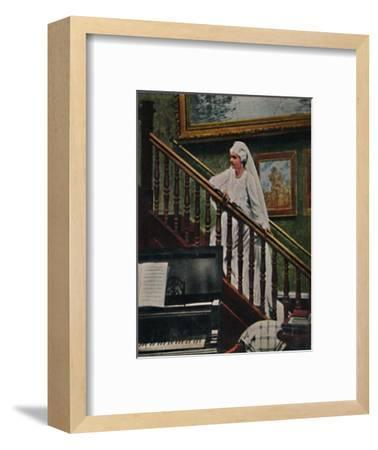 'Carmen Sylva 1843-1916', 1934-Unknown-Framed Giclee Print