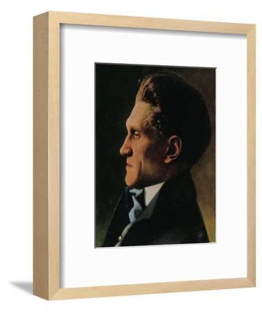 'Stefan George 1868-1933', 1934-Unknown-Framed Giclee Print