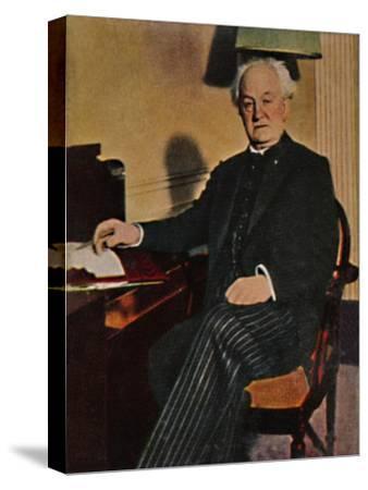 'Gerhart Hauptmann - Geb. 1862', 1934-Unknown-Stretched Canvas Print