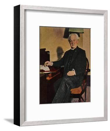 'Gerhart Hauptmann - Geb. 1862', 1934-Unknown-Framed Giclee Print