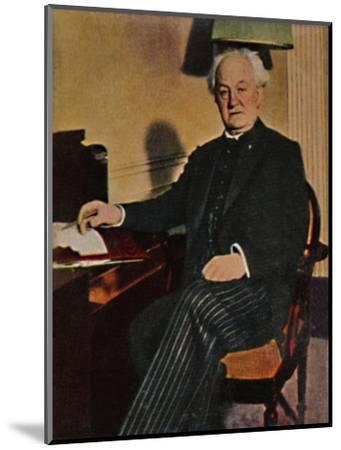 'Gerhart Hauptmann - Geb. 1862', 1934-Unknown-Mounted Giclee Print