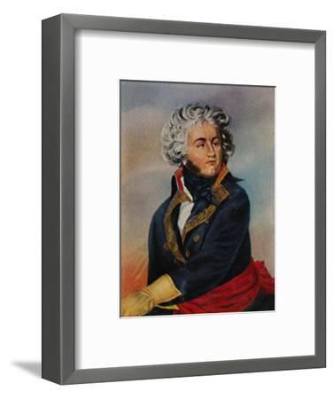 'General Kléber 1753-1800. - Gemälde von Guérin', 1934-Unknown-Framed Giclee Print