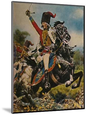 'Hans Joachim von Ziethen 1699-1786. - Gemälde von W. Schuch', 1934-Unknown-Mounted Giclee Print