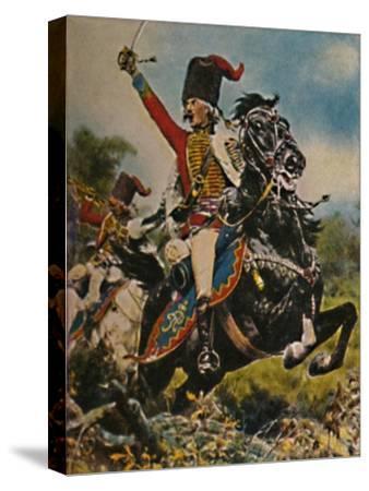'Hans Joachim von Ziethen 1699-1786. - Gemälde von W. Schuch', 1934-Unknown-Stretched Canvas Print