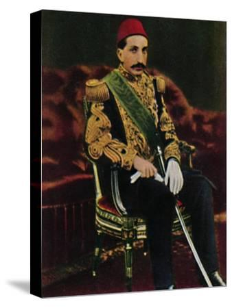 'Sultan Abdul Hamid 1842-1918', 1934-Unknown-Stretched Canvas Print