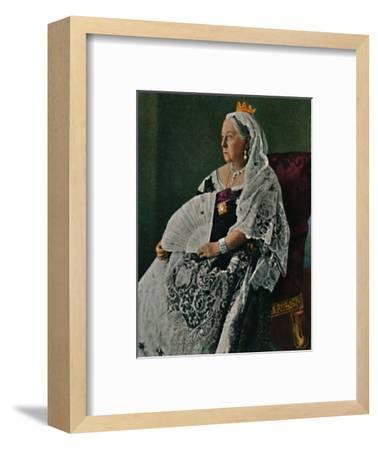 'Königin Viktoria von England 1819-1901', 1934-Unknown-Framed Giclee Print