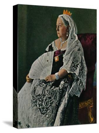 'Königin Viktoria von England 1819-1901', 1934-Unknown-Stretched Canvas Print