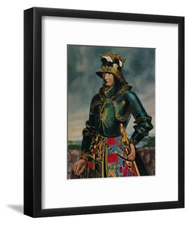'Kaiser Maximilian I. 1459-1519 - Gemälde von Rubens', 1934-Unknown-Framed Giclee Print
