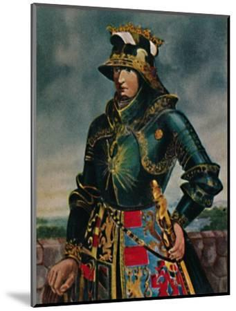 'Kaiser Maximilian I. 1459-1519 - Gemälde von Rubens', 1934-Unknown-Mounted Giclee Print