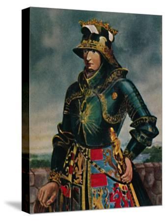 'Kaiser Maximilian I. 1459-1519 - Gemälde von Rubens', 1934-Unknown-Stretched Canvas Print