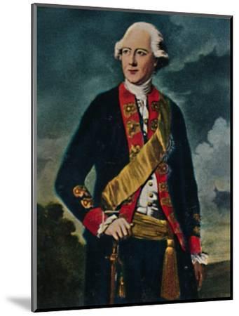 'Feldmarschall von Möllendorff 1724-1816', 1934-Unknown-Mounted Giclee Print
