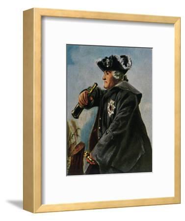 'Feldmarschall Keith 1696-1758. - Gemälde von Menzel', 1934-Unknown-Framed Giclee Print