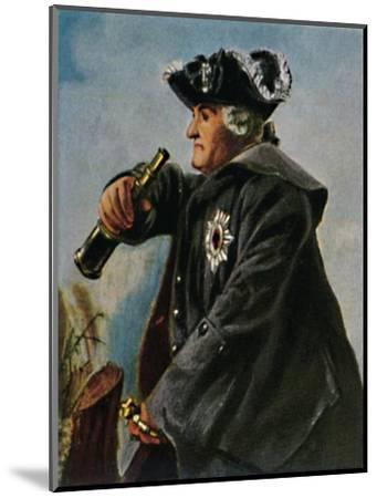 'Feldmarschall Keith 1696-1758. - Gemälde von Menzel', 1934-Unknown-Mounted Giclee Print