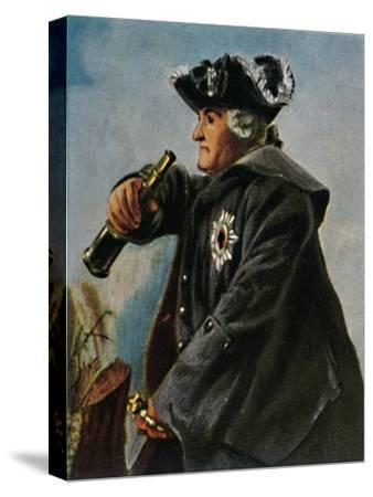 'Feldmarschall Keith 1696-1758. - Gemälde von Menzel', 1934-Unknown-Stretched Canvas Print