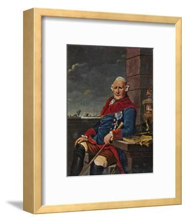 'Herzog Ferdinand von Braunschweig 1721-1792', 1934-Unknown-Framed Giclee Print