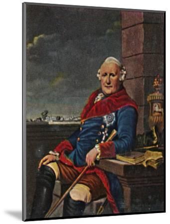 'Herzog Ferdinand von Braunschweig 1721-1792', 1934-Unknown-Mounted Giclee Print