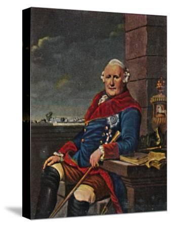 'Herzog Ferdinand von Braunschweig 1721-1792', 1934-Unknown-Stretched Canvas Print