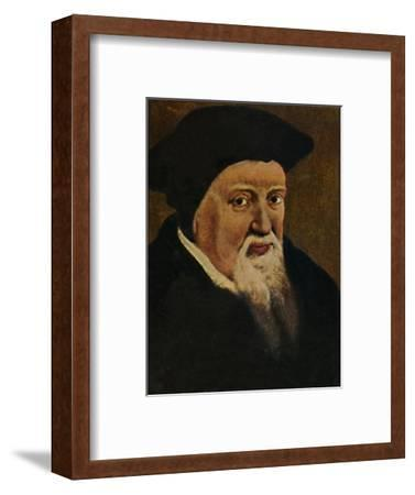 'Zwingli 1484-1531', 1934-Unknown-Framed Giclee Print