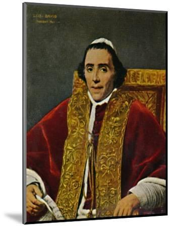 'Papst Pius VII. 1740-1823. - Gemälde von David', 1934-Unknown-Mounted Giclee Print