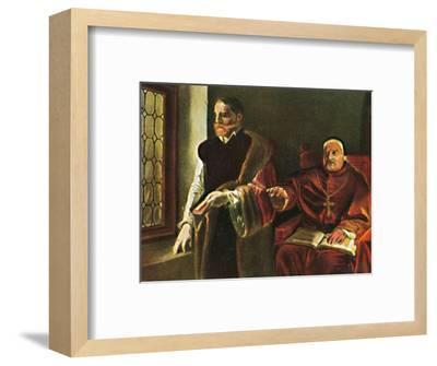 'Graf Egmont 1522-1568. - Gemälde vn Louis Gaillait', 1934-Unknown-Framed Giclee Print