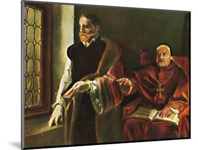 'Graf Egmont 1522-1568. - Gemälde vn Louis Gaillait', 1934-Unknown-Mounted Giclee Print