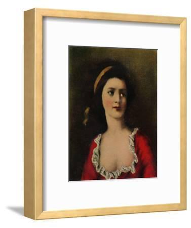 'Gräfin Potocka 1776-1867. - Gemälde von Kucharski', 1934-Unknown-Framed Giclee Print