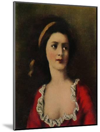 'Gräfin Potocka 1776-1867. - Gemälde von Kucharski', 1934-Unknown-Mounted Giclee Print