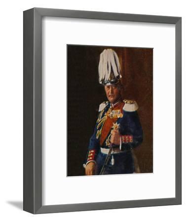 'Generaloberst von Moltke 1848-1916', 1934-Unknown-Framed Giclee Print