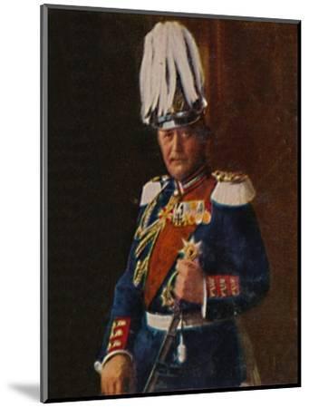 'Generaloberst von Moltke 1848-1916', 1934-Unknown-Mounted Giclee Print