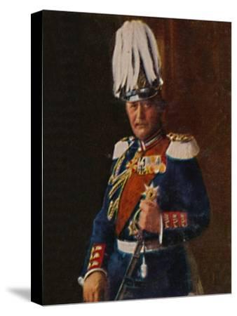 'Generaloberst von Moltke 1848-1916', 1934-Unknown-Stretched Canvas Print