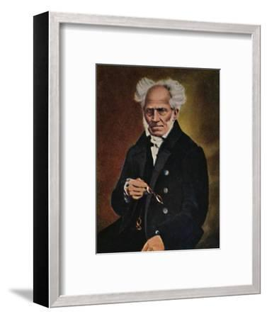 'Arthur Schopenhauer 1788-1860', 1934-Unknown-Framed Giclee Print