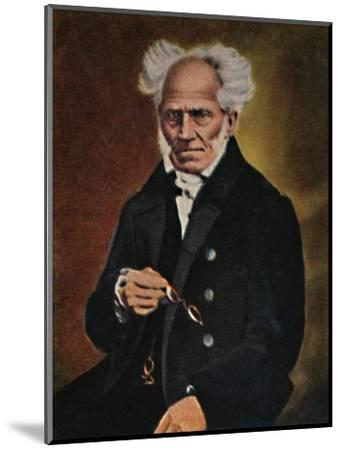'Arthur Schopenhauer 1788-1860', 1934-Unknown-Mounted Giclee Print