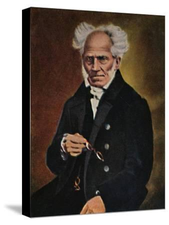 'Arthur Schopenhauer 1788-1860', 1934-Unknown-Stretched Canvas Print
