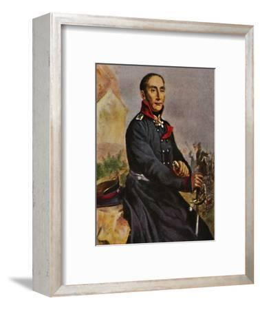 'General von Tauentzien 1760-1824', 1934-Unknown-Framed Giclee Print