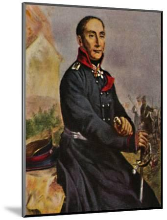 'General von Tauentzien 1760-1824', 1934-Unknown-Mounted Giclee Print