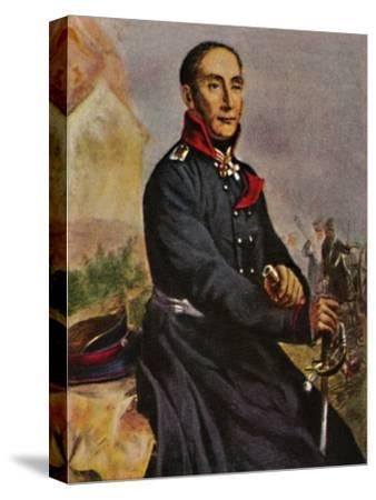 'General von Tauentzien 1760-1824', 1934-Unknown-Stretched Canvas Print