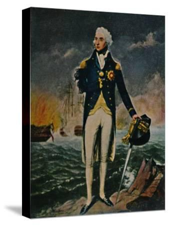 'Lord Nelson 1758-1805', 1934-Unknown-Stretched Canvas Print