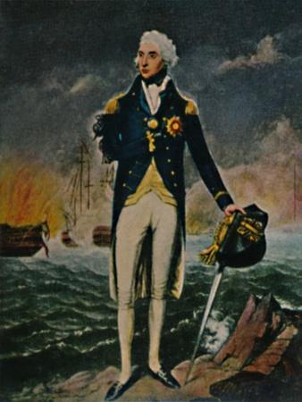 'Lord Nelson 1758-1805', 1934-Unknown-Framed Giclee Print