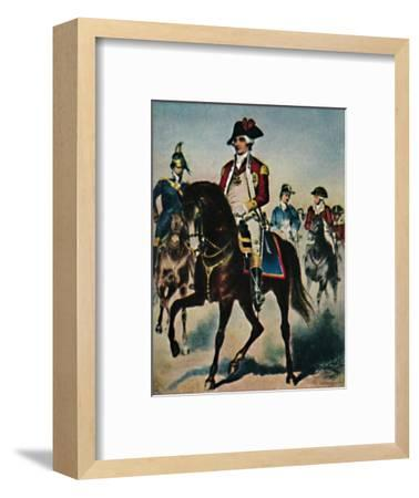 'General Steuben 1730-1794', 1934-Unknown-Framed Giclee Print